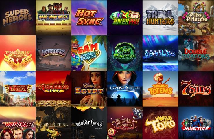 Super Lenny Casino Games